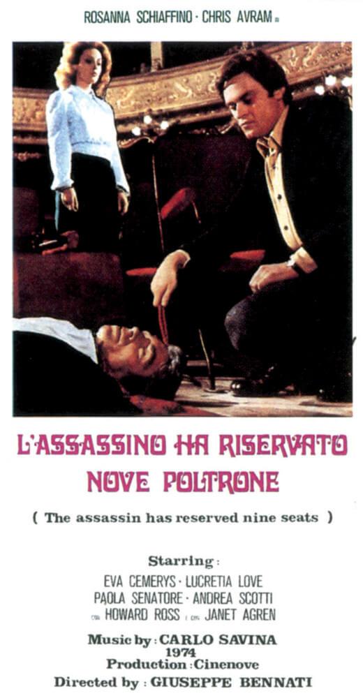 L'assassino ha riservato nove poltrone - Nocturno.it