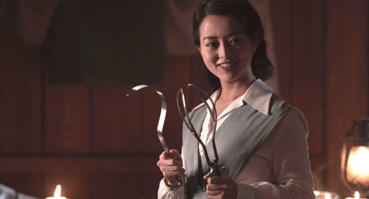 Kiki Sukezane as Yuko- The Terror _ Season 2, Episode 4 - Photo Credit: Ed Araquel/AMC